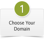#1. Choose Your Domain