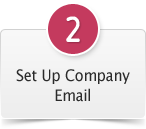 #2. Set Up Company Email