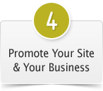 #4. Promote Your Site & Your Business